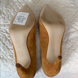J. Crew Shoes - Mustard Suede Pumps